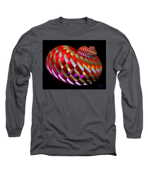 Spin-orbit Interaction Long Sleeve T-Shirt by Manny Lorenzo