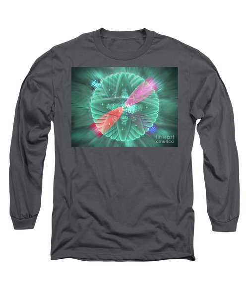 Long Sleeve T-Shirt featuring the photograph Spinning Lights by Rockin Docks Deluxephotos
