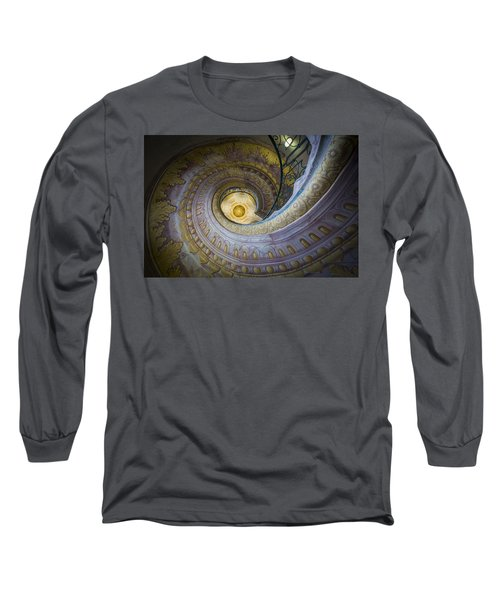 Spiral Staircase Melk Abbey I Long Sleeve T-Shirt