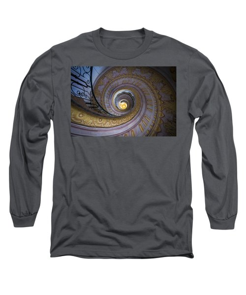 Spiral Staircase Melk Abbey IIi Long Sleeve T-Shirt
