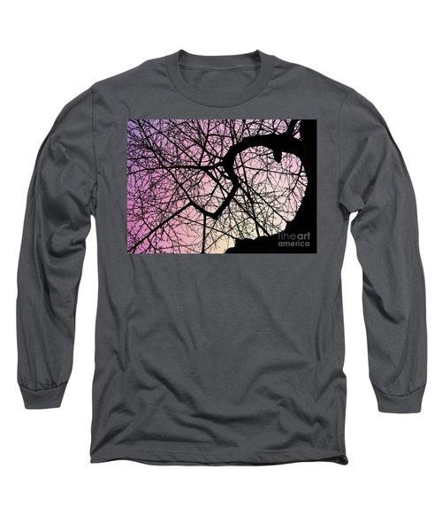 Spiral Tree Long Sleeve T-Shirt