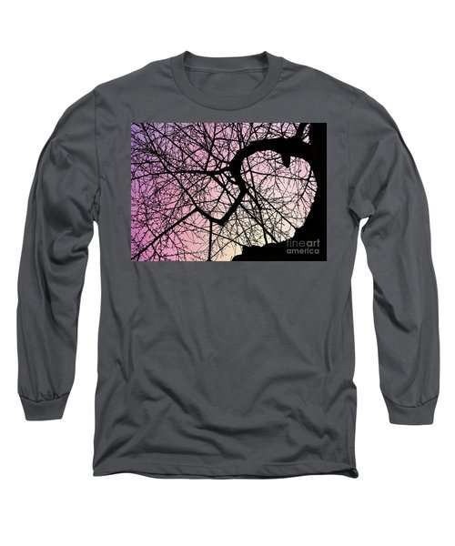 Spiral Tree Long Sleeve T-Shirt