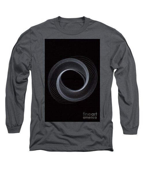 Spiral White Long Sleeve T-Shirt