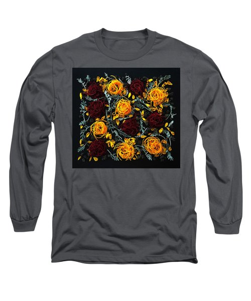 Spiralized Beets And Squash Long Sleeve T-Shirt