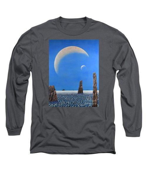 Spires Of Triton Long Sleeve T-Shirt