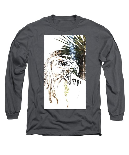 Spirit Animal . Hawk Long Sleeve T-Shirt