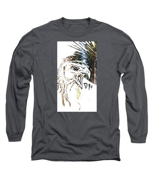 Spirit Animal . Hawk Long Sleeve T-Shirt