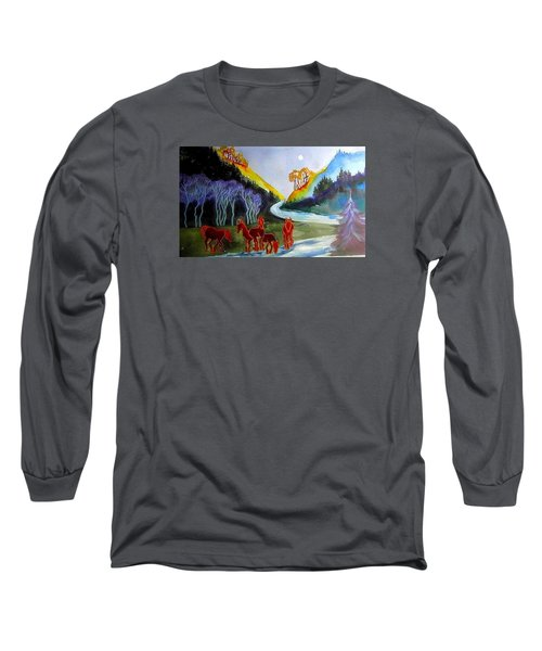 Spirit Horses Long Sleeve T-Shirt