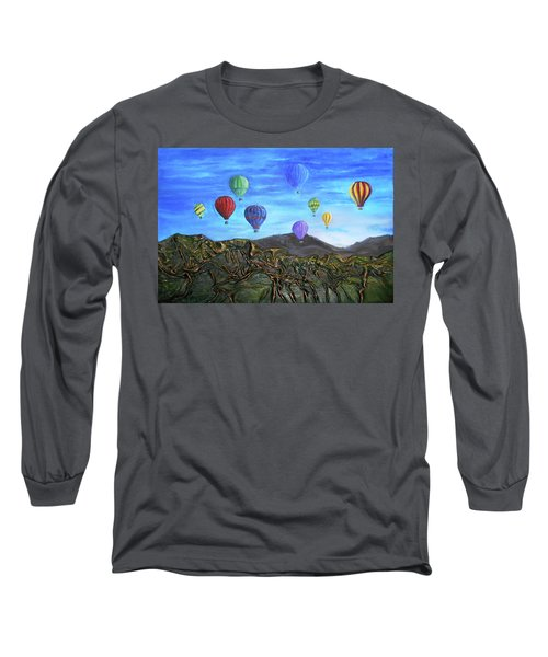 Long Sleeve T-Shirt featuring the mixed media Spirit Of Boise by Angela Stout