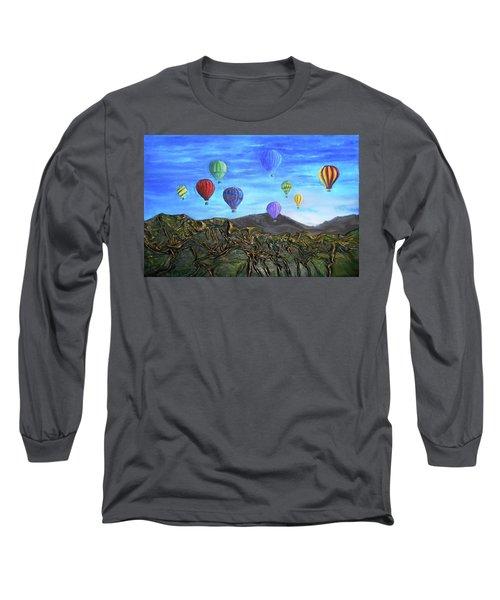 Spirit Of Boise Long Sleeve T-Shirt by Angela Stout