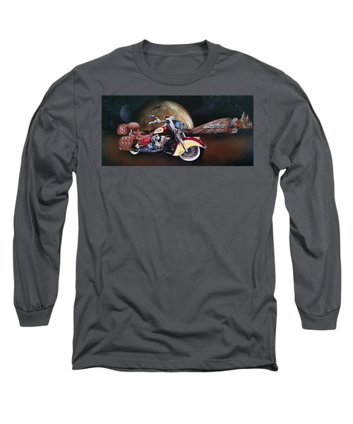 Spirit Of The Wild West Long Sleeve T-Shirt