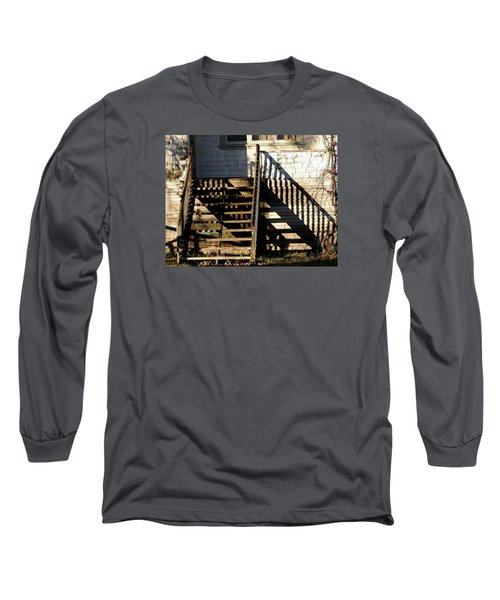 Spirit Stairs Long Sleeve T-Shirt by Brian Chase