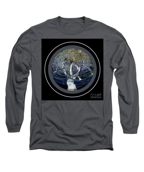 Spirit Tree Long Sleeve T-Shirt by Jodie Marie Anne Richardson Traugott          aka jm-ART