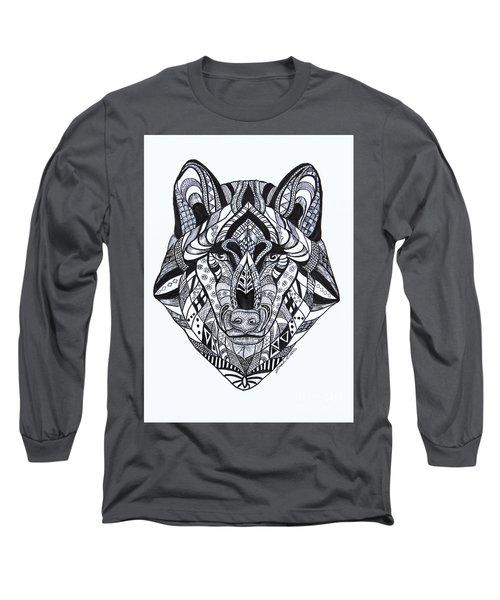 Spirit Wolf Long Sleeve T-Shirt