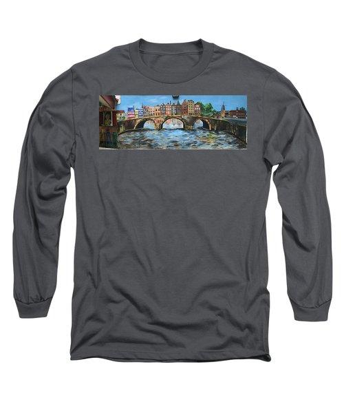Spiritual Reflections Long Sleeve T-Shirt by Belinda Low