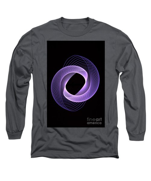 Spirograph Spiral 06 Long Sleeve T-Shirt