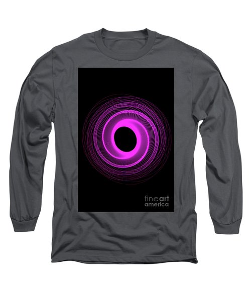 Spirograph Spiral 08 Long Sleeve T-Shirt