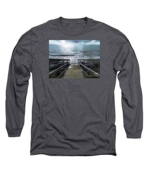 Splash Long Sleeve T-Shirt by Karen Lewis