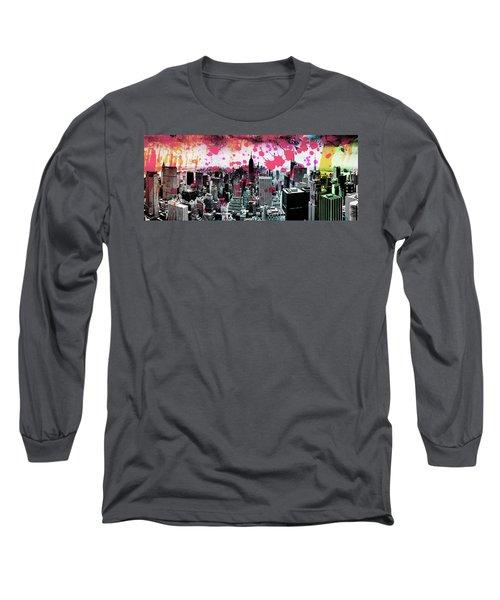 Splatter Pop Long Sleeve T-Shirt