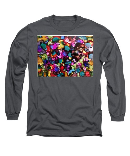 Long Sleeve T-Shirt featuring the painting Splendor by Denise Tomasura