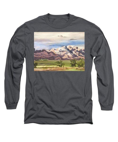 Split Mountain Long Sleeve T-Shirt