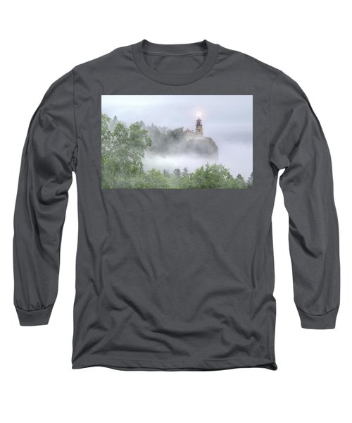 Split Rock Lighthouse Lake Superior North Shore Long Sleeve T-Shirt