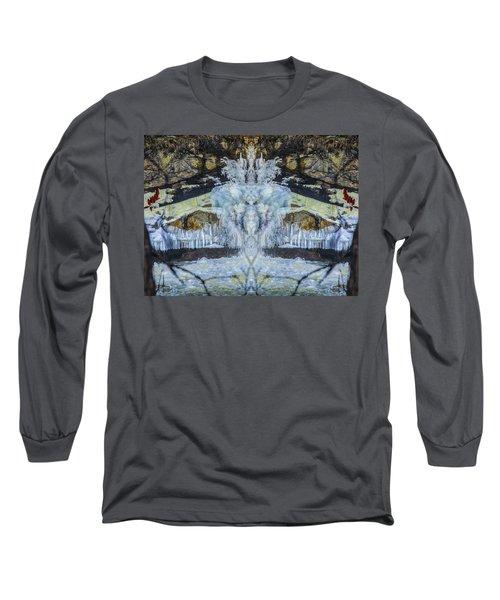 Split The Falls Long Sleeve T-Shirt