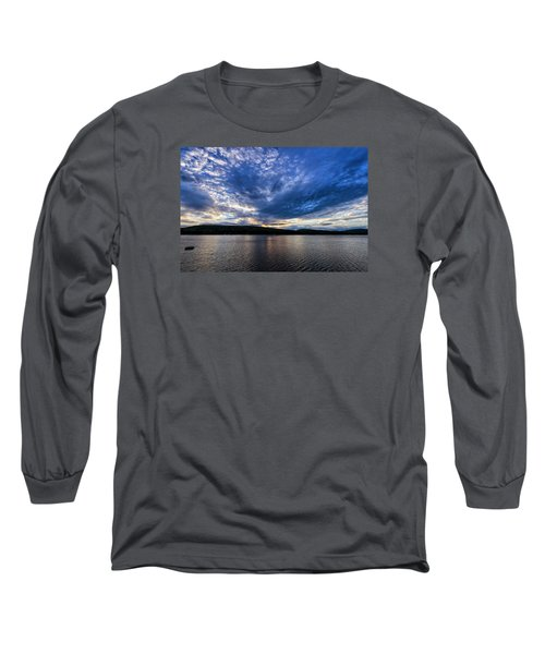 Long Sleeve T-Shirt featuring the photograph Spofford Lake Sunrise by Tom Singleton