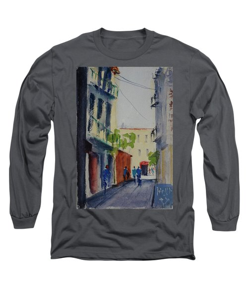 Spofford Street3 Long Sleeve T-Shirt by Tom Simmons