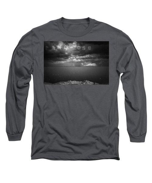 Long Sleeve T-Shirt featuring the photograph Spoken by Mark Ross
