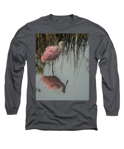 Spoonbill Long Sleeve T-Shirt