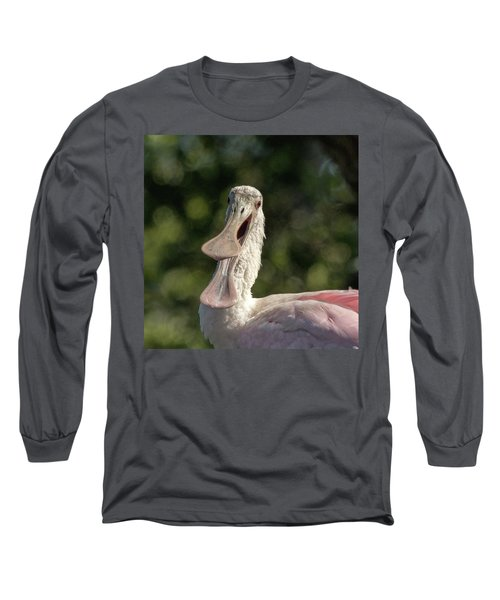 Spoonbill Talk Long Sleeve T-Shirt