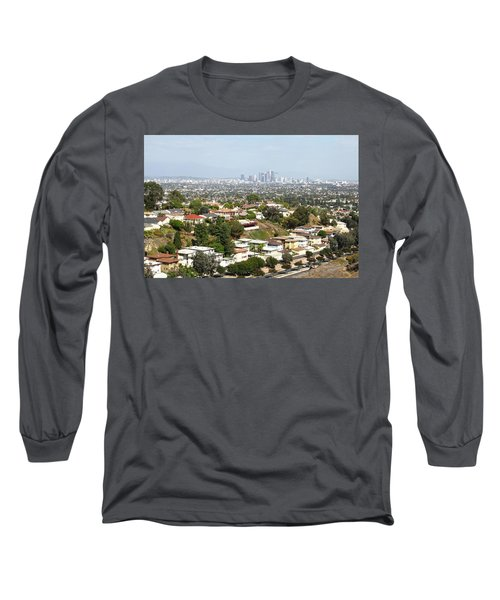Sprawling Homes To Downtown Los Angeles Long Sleeve T-Shirt
