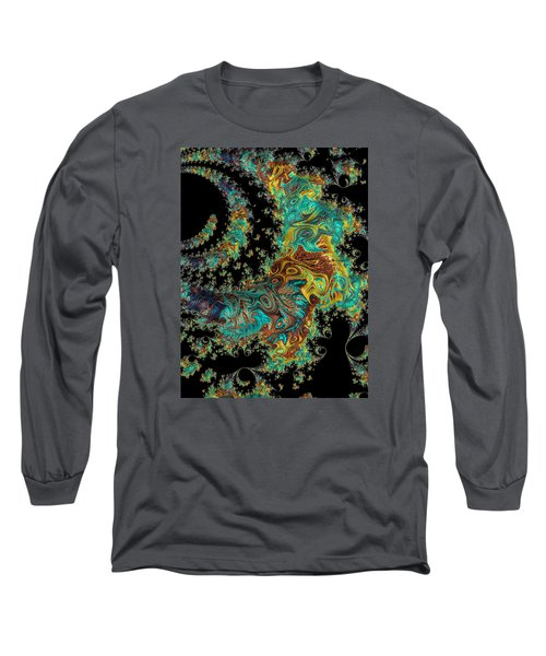 Sprial Galaxy I I Long Sleeve T-Shirt