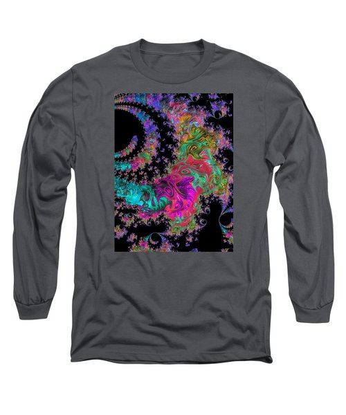 Long Sleeve T-Shirt featuring the photograph Sprial Galaxy by Ronda Broatch