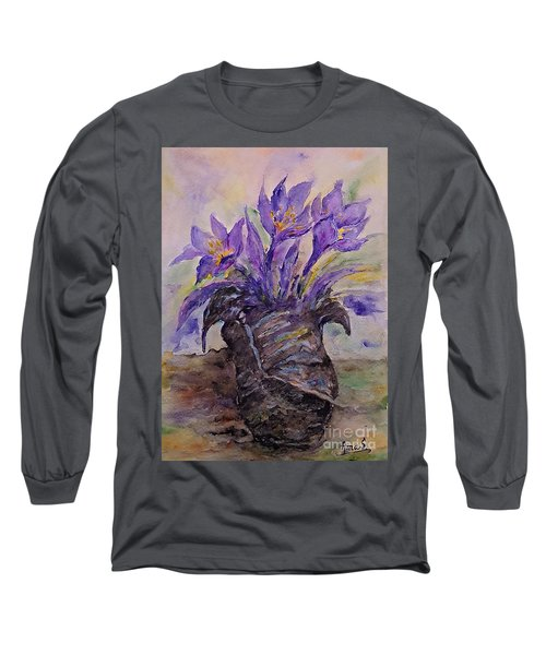 Spring In Van Gogh Shoes Long Sleeve T-Shirt