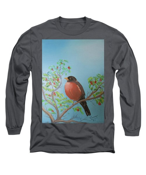 Spring Long Sleeve T-Shirt by Al Johannessen