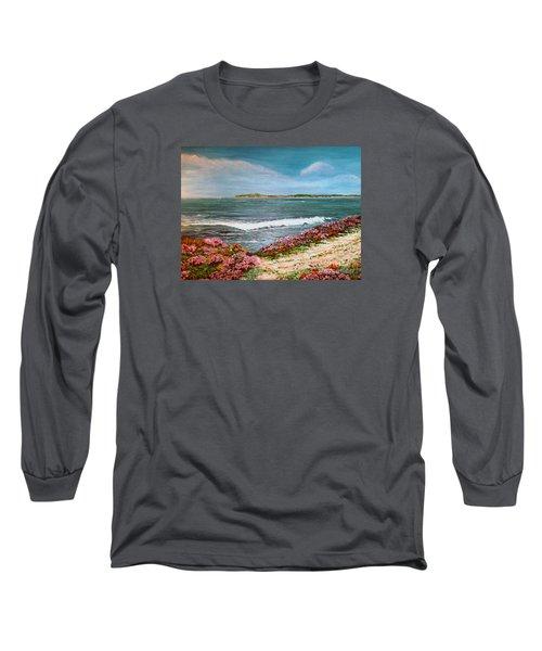 Spring At Half Moon Bay Long Sleeve T-Shirt
