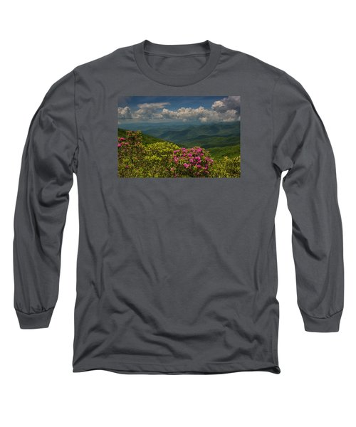 Spring Blooms On The Blue Ridge Parkway Long Sleeve T-Shirt