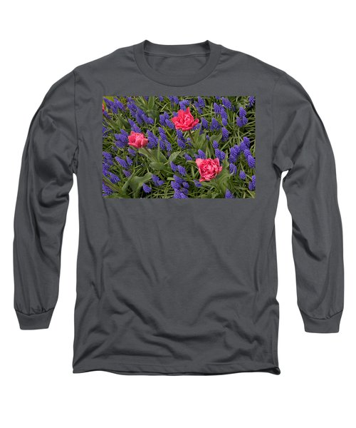 Spring Blooms Long Sleeve T-Shirt by Phyllis Peterson