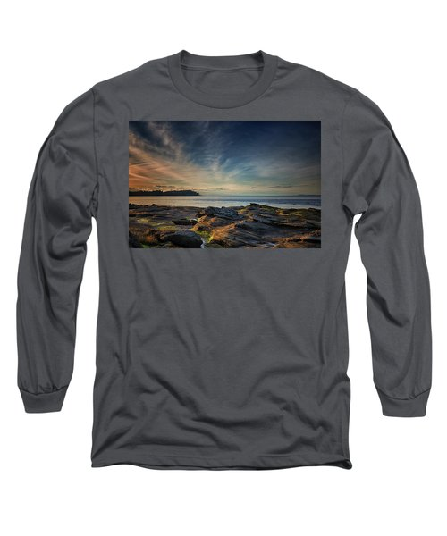 Spring Evening At Madrona Long Sleeve T-Shirt by Randy Hall