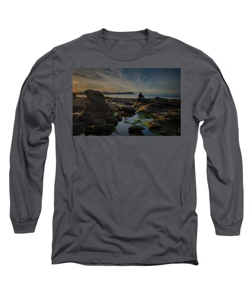 Spring Evening Long Sleeve T-Shirt by Randy Hall