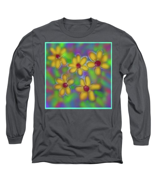 Spring Fever Long Sleeve T-Shirt by Latha Gokuldas Panicker