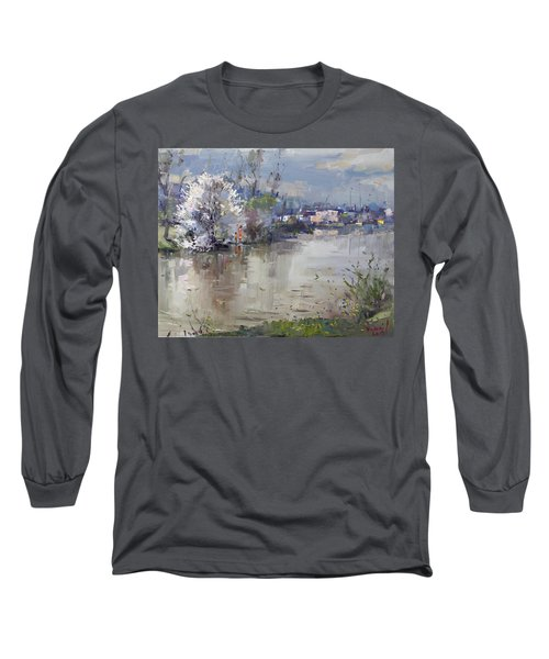 Spring In Hyde Park Long Sleeve T-Shirt