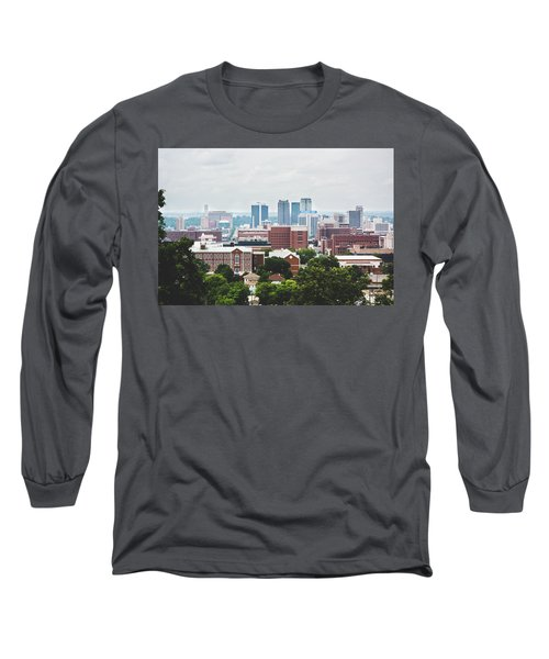 Long Sleeve T-Shirt featuring the photograph Spring In The Magic City - Birmingham by Shelby Young