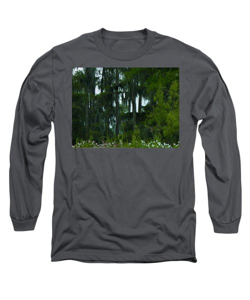 Spring In The Swamp Long Sleeve T-Shirt by Kimo Fernandez