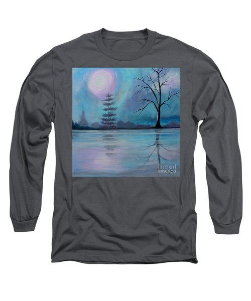 Long Sleeve T-Shirt featuring the painting Spring Morning by Stacey Zimmerman