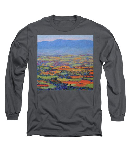 Spring Patchwork 1 Long Sleeve T-Shirt by Bonnie Mason