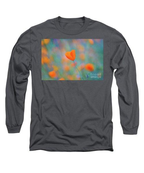 Spring Poppy Long Sleeve T-Shirt