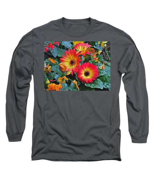 Spring Show 14 Gerbera Daisy 1 Long Sleeve T-Shirt